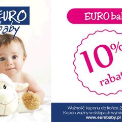 10% Rabatu na zakup produktów firmy Eurobaby