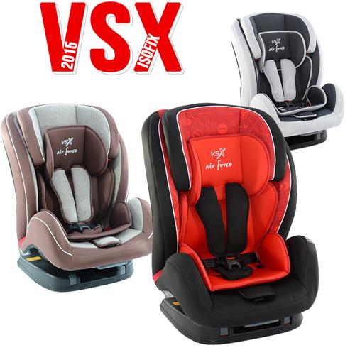 Foteliki VSX z isofixem
